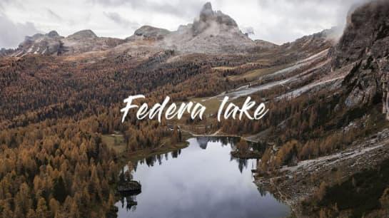lago federa dolomiti
